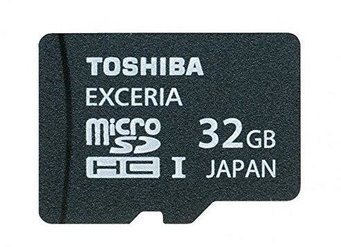 Toshiba 32GB microSDHC 32GB MicroSD UHS-I Class 10 memory card