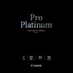 Canon PT-101 pak fotopapier Zwart Hoogglans