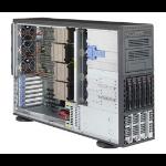 Supermicro 8048B-TR4F Intel® C602J LGA 2011 (Socket R) 4U Black