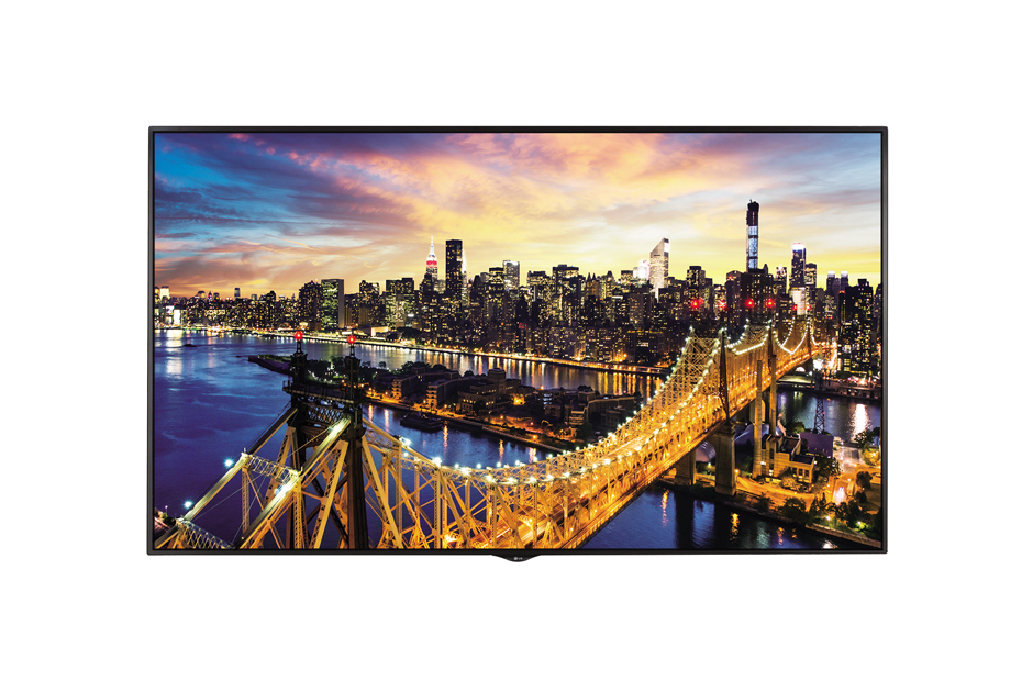 "LG 98LS95D Digital signage flat panel 98"" LED 4K Ultra HD Black signage display"