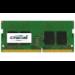 Crucial 4GB DDR4 módulo de memoria 1 x 4 GB 2400 MHz
