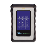 DataLocker DL3 FE 4000 GB Black,Silver