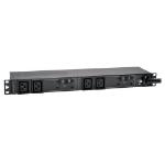 Tripp Lite 7.4kW Single-Phase 230V Basic PDU, 4 C19 Outlets, IEC 309 32A Blue Input, 3.6 m Cord, 1U Rack-Mount