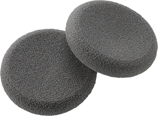 Plantronics 15729-05 headphone pillow Black 2 pc(s)