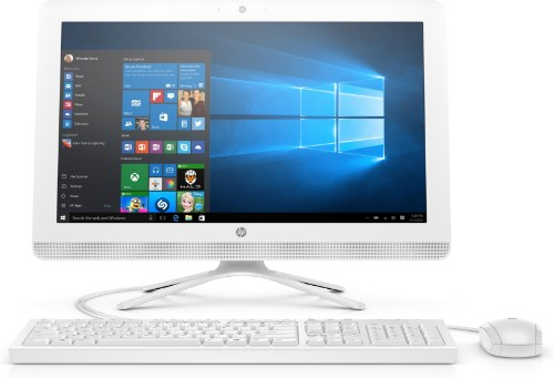 """HP 22 -c0004na 54.6 cm (21.5"""") 1920 x 1080 pixels 8th gen Intel® Core™ i3 i3-8130U 8 GB DDR4-SDRAM 1000 GB HDD White All-in-One PC"""