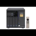QNAP TVS-682T NAS Tower Ethernet LAN Black
