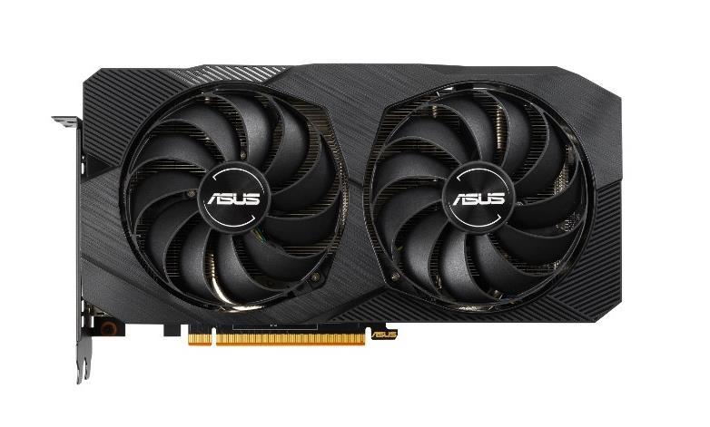 ASUS Dual -RX5500XT-O8G-EVO graphics card Radeon RX 5500 XT 8 GB GDDR6