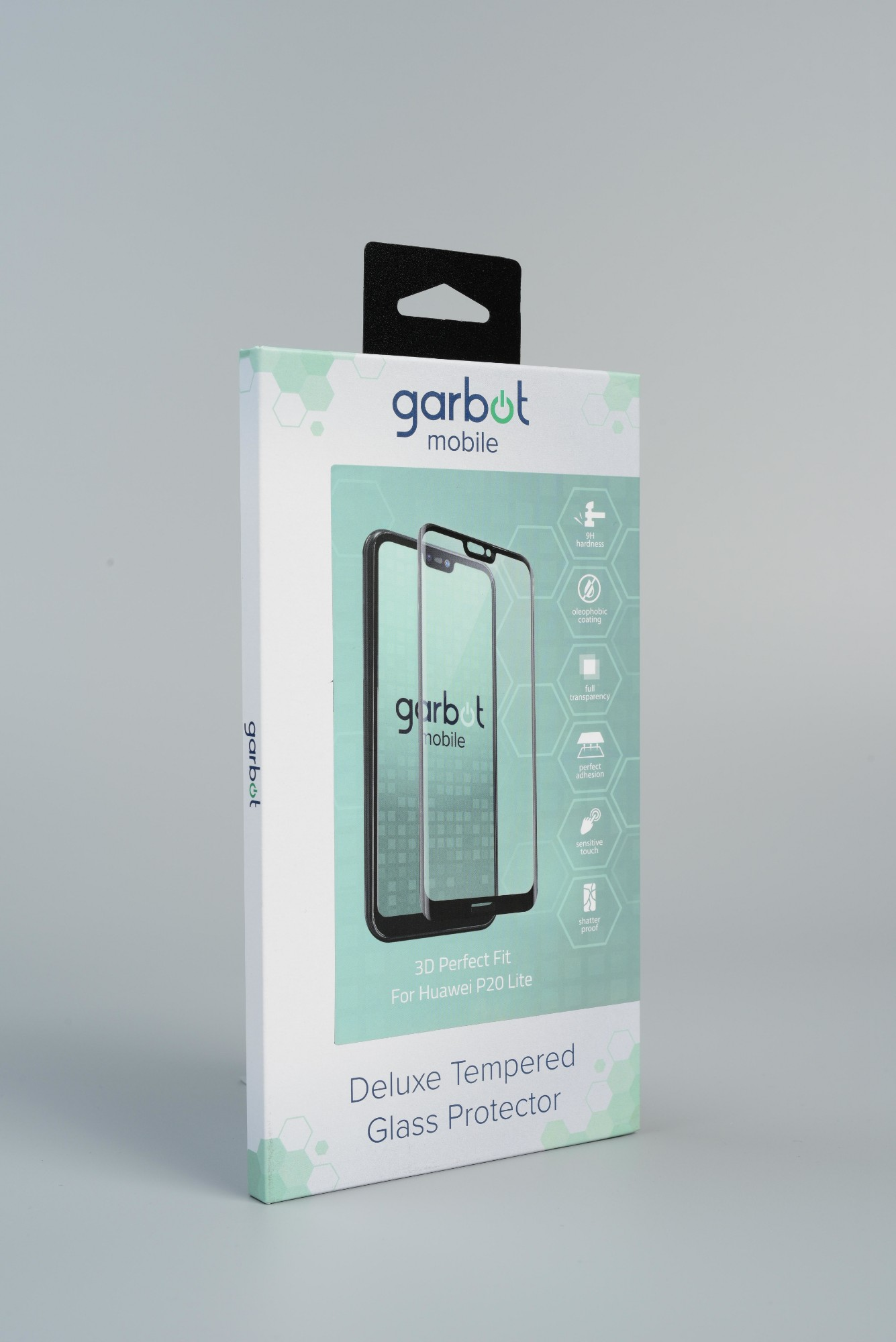 Garbot 9H 3D Screen Protector for Huawei P20 Lite