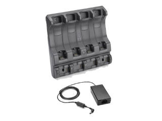 4-slot Charge Cradle Kit Include Powor Dc Cabl No Line Cord