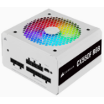 Corsair CX550F RGB power supply unit 550 W 24-pin ATX ATX White