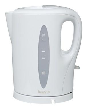 Igenix IG7270 electric kettle 1.7 L White 2200 W