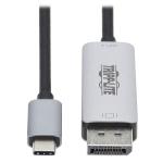 Tripp Lite U444-006-DP8SE USB graphics adapter 7680 x 4320 pixels Black, Gray