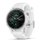 "Garmin fēnix 5S Plus MIP Armband activity tracker 1.2"" Wireless White"