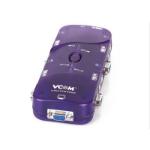 VCOM DD214 Purple KVM switch