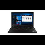 "Lenovo ThinkPad P53s Black Mobile workstation 39.6 cm (15.6"") 1920 x 1080 pixels 8th gen Intel® Core™ i7 16 GB DDR4-SDRAM 512 GB SSD Windows 10 Pro"