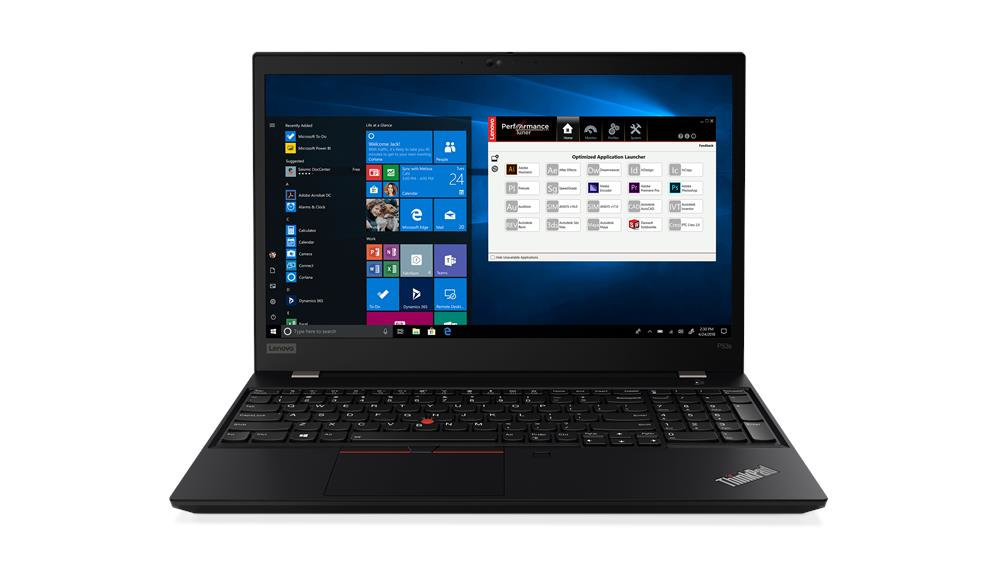Lenovo ThinkPad P53s Black Mobile workstation 39.6 cm (15.6