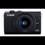 Canon EOS M200 + EF-M 15-45mm f/3.5-6.3 IS STM MILC 24.1 MP CMOS 6000 x 4000 pixels Black