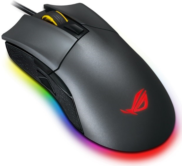 ASUS Rog Gladius II USB Optical 12000DPI Ambidextrous Black mice