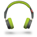 Plantronics BackBeat 500 Head-band Binaural Wired Green,Grey mobile headset