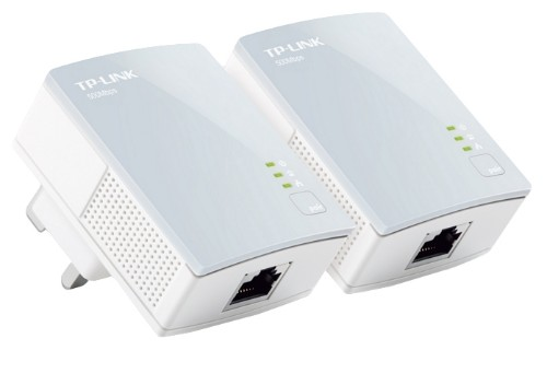 TP-LINK 500Mbps nano Powerline Ethernet Home Plug Wired Networking Gaming