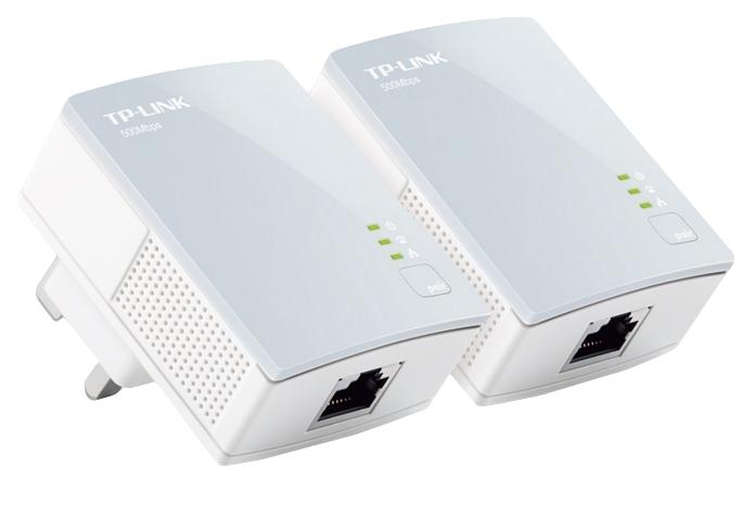 TP-LINK PA411KIT 500 Mbit/s Ethernet Blanco 2 pieza(s)