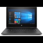 "HP ProBook x360 11 G5 EE DDR4-SDRAM Hybrid (2-in-1) 29.5 cm (11.6"") 1366 x 768 pixels Touchscreen Intel® Pentium® Silver 4 GB 128 GB SSD Wi-Fi 5 (802.11ac) Windows 10 Pro Black"
