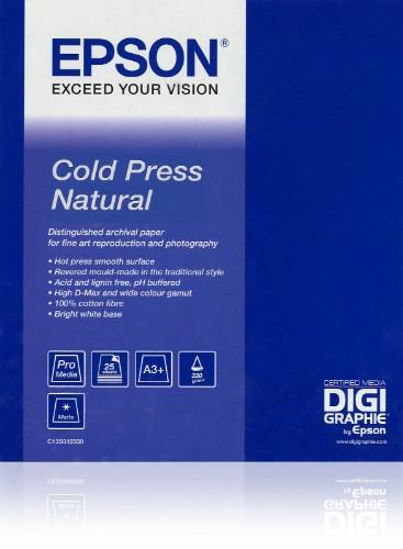 "Epson Cold Press Natural 17""x 15m"