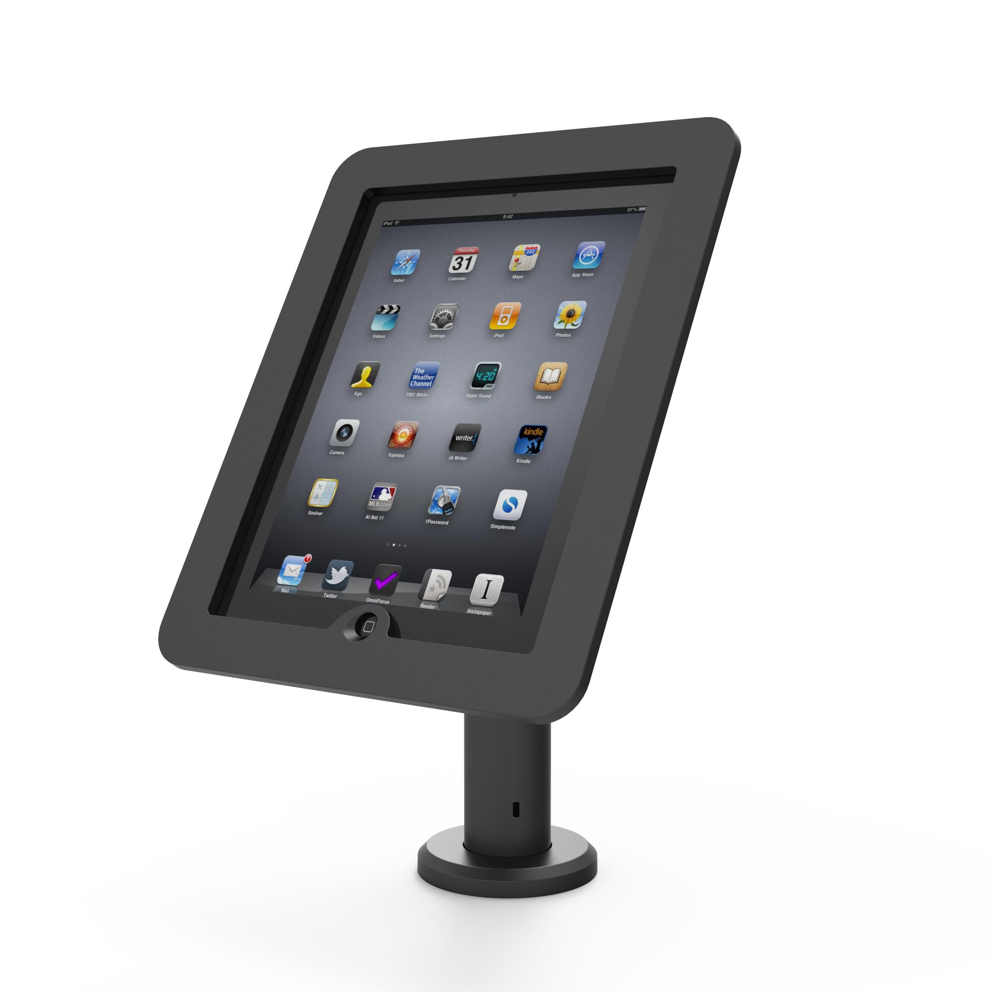 Compulocks Rise Carro para administración de tabletas Negro Tableta