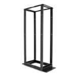 V7 RM4POF42U-1E Freestanding rack 42U 680kg Black rack