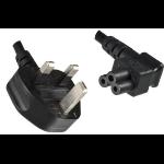 Microconnect PE090818A power cable Black 1.8 m Power plug type G C5 coupler