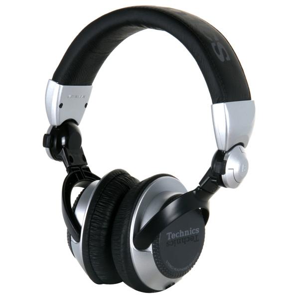 Panasonic RP-DJ1215E-S Black,Silver Circumaural Head-band headphone