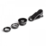 Kit ESCL-3IN1 mobile phone spare part Rear camera lens Black