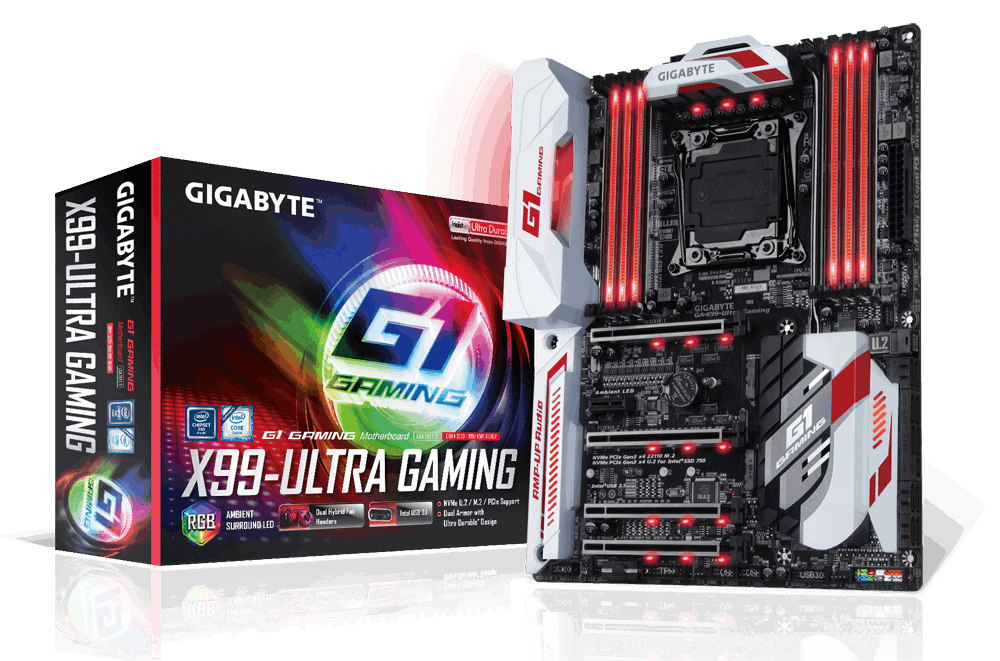 Gigabyte GA-X99-Ultra Gaming (rev. 1.0) Intel X99 LGA 2011-v3 ATX