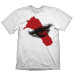 GOD OF WAR Men's Mark of Kratos T-Shirt, Large, White (GE1785L)