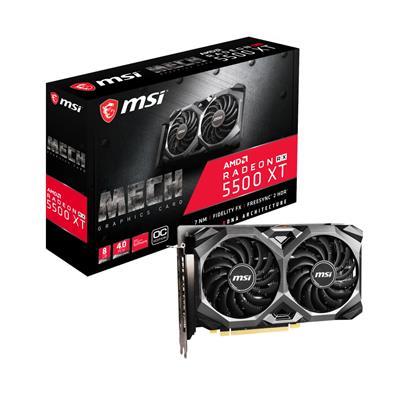 MSI RADEON RX 5500 XT 8GB MECH 8G OC