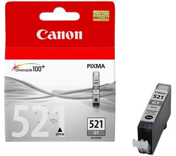 Canon CLI-521 GY inktcartridge Original Grijs 1 stuk(s)