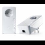 Devolo GIGABIT Starter Kit 1200Mbit/s Ethernet LAN White 2pc(s) PowerLine network adapter