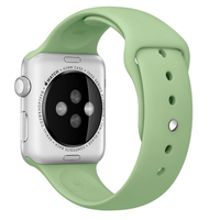 Apple 42mm Sport Band - Small/Medium & Medium/Large - watch strap - mint - for Watch (42 mm)