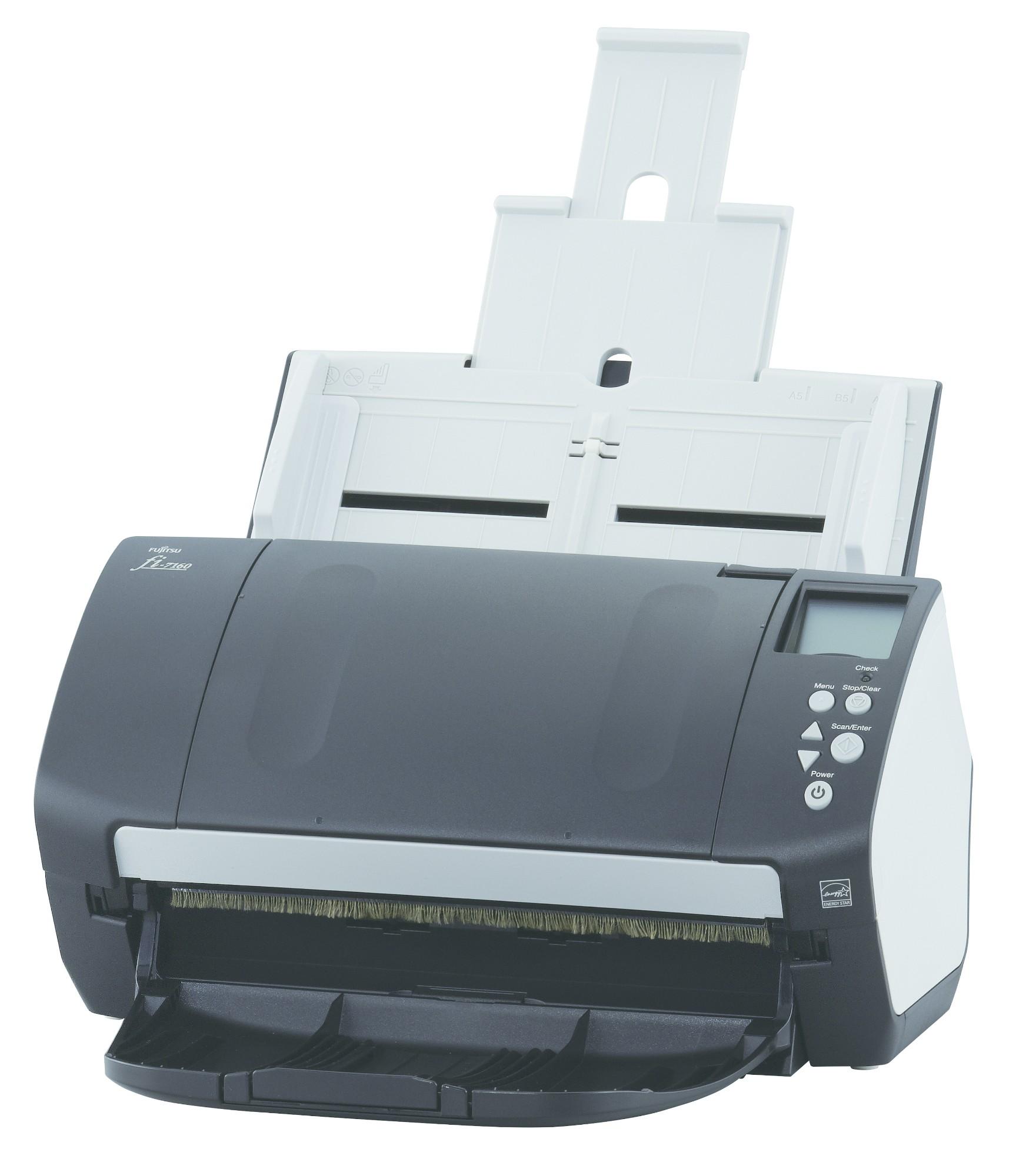 Fujitsu fi-7180 ADF scanner 600 x 600DPI A4 Black,White