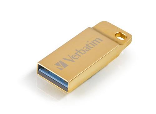 Verbatim Metal Executive USB flash drive 64 GB USB Type-A 3.2 Gen 1 (3.1 Gen 1) Gold