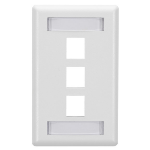 Black Box WP470 wall plate/switch cover White