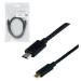 MCL USB 3.1 Type-C / USB 2.0 Micro-B 1 m cable USB USB C Micro-USB B Negro
