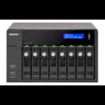 QNAP TVS-871 NAS Tower Ethernet LAN Black