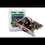 Digitus 2 x DB9 M Internal Serial interface cards/adapter