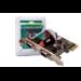 Digitus 2 x DB9 M tarjeta y adaptador de interfaz De serie Interno