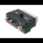 Digitus Scart 21p - 3x RCA/SVHS Scart 21p 3x RCA/SVHS Black