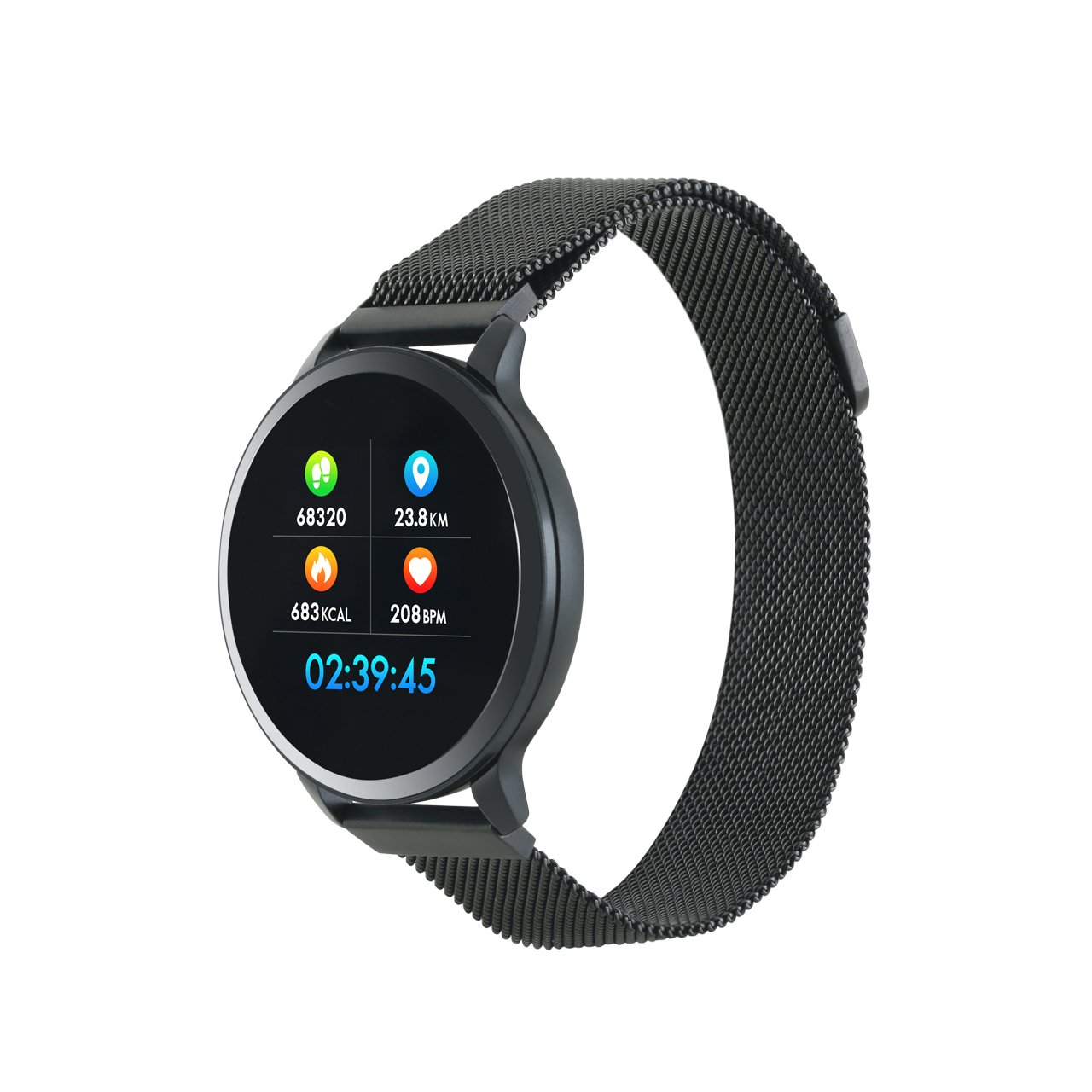 "Canyon CNS-SW71BB smartwatch 3.1 cm (1.22"") 42 mm Black"