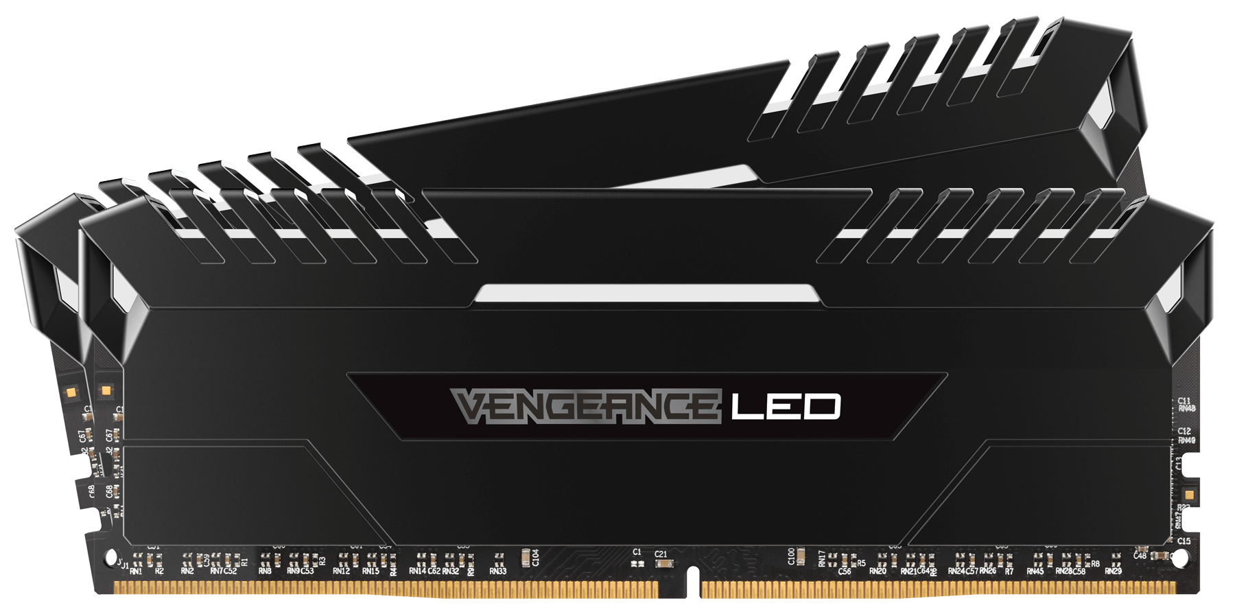 Corsair Vengeance LED 2x8GB DDR4-2666 memory module 16 GB 2666 MHz