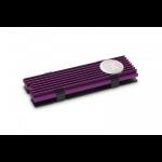 EK Water Blocks 3830046994745 computer cooling component Solid-state drive Heatsink Black, Purple