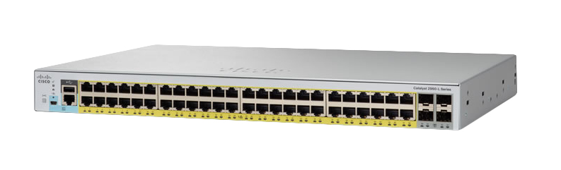 Cisco Catalyst 2960-L Managed L2 Gigabit Ethernet (10/100/1000) Grijs 1U Power over Ethernet (PoE)